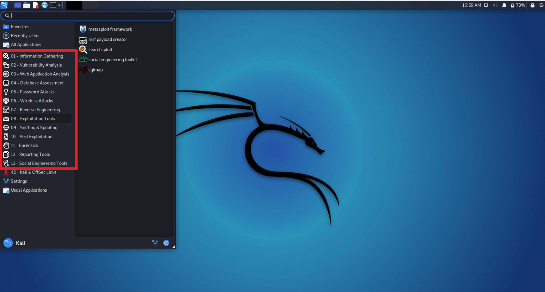 Kali Linuxでできること:主な機能13選